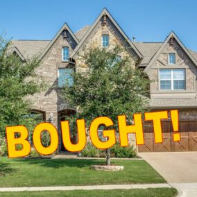 201 Cedar Rock Court, Mansfield, TX  76063, BOUGHT!