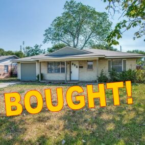 2012 Pyramid Drive, Mesquite, TX,  75149, BOUGHT!