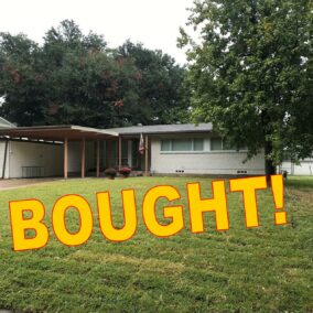 1503 Bluebonnet Trail, Arlington, TX  76013, BOUGHT!