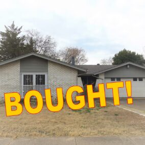 704 Salem Drive, Arlington, TX 76014, BOUGHT!