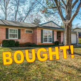 708 Sherwood Drive, Arlington, TX  76013,  BOUGHT