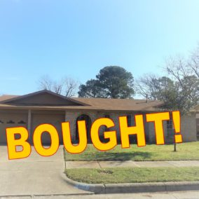 2809 Major Street, Fort Worth, TX, 76112, BOUGHT!
