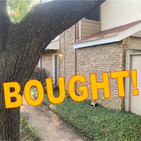 1715 Westview Terrace  #A, Arlington, TX  76013, BOUGHT!